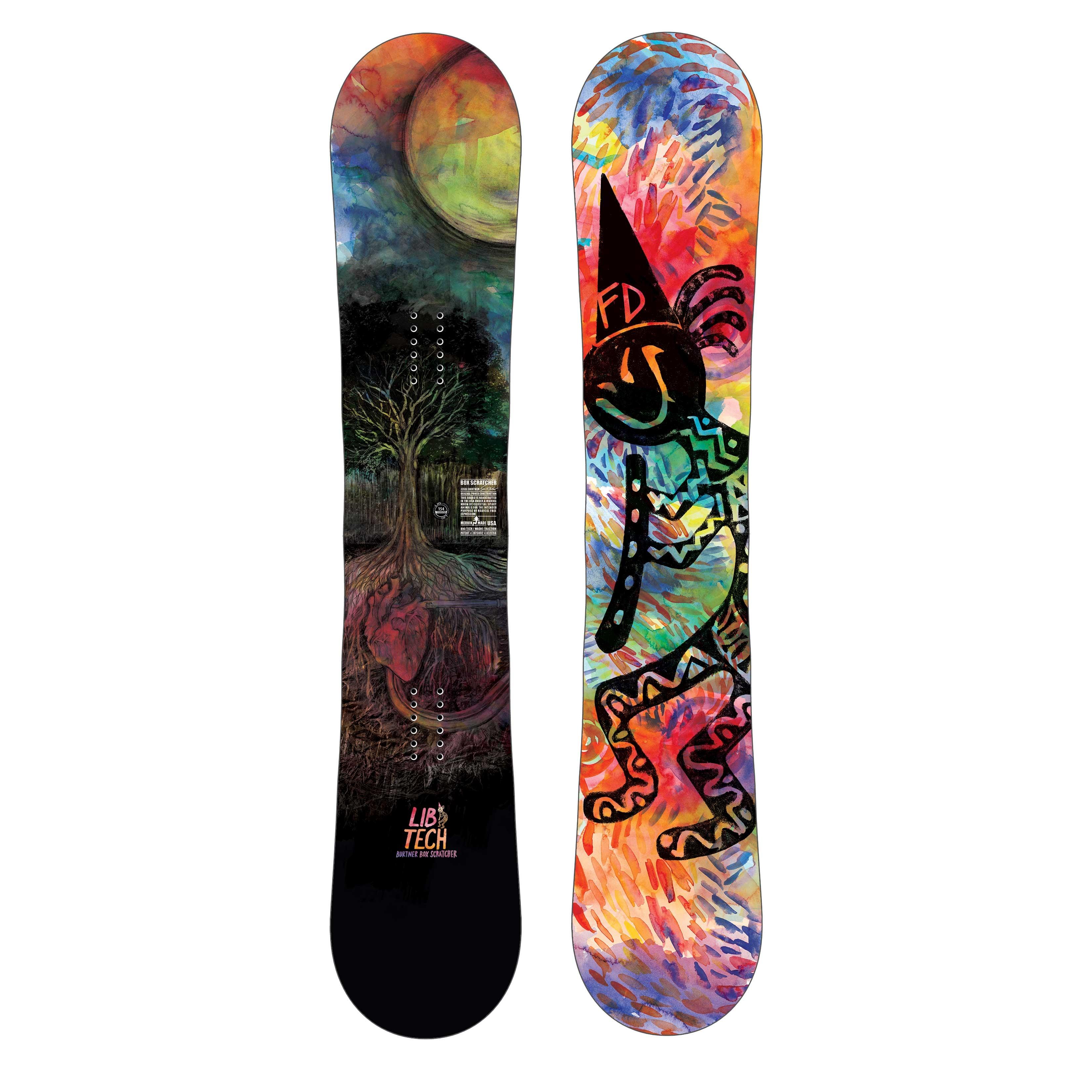 Lib Tech Box Scratcher BTX - tavola snowboard