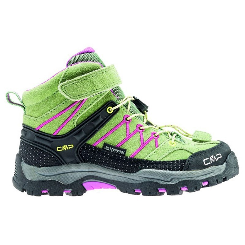 In liquidazione aspetto elegante elegante nello stile Kids Rigel Mid wp - scarpe da trekking Bambino - salvia
