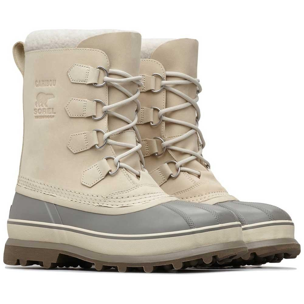 Acquista Sorel Caribou - Scarpe neve uomo beige  e7d49909a8d