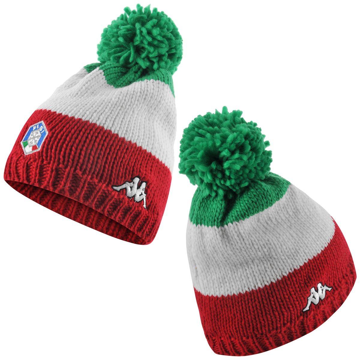 Acquista Kappa 6Cento Flock FiSi - cappello sci tricolore  959e4f9ee272