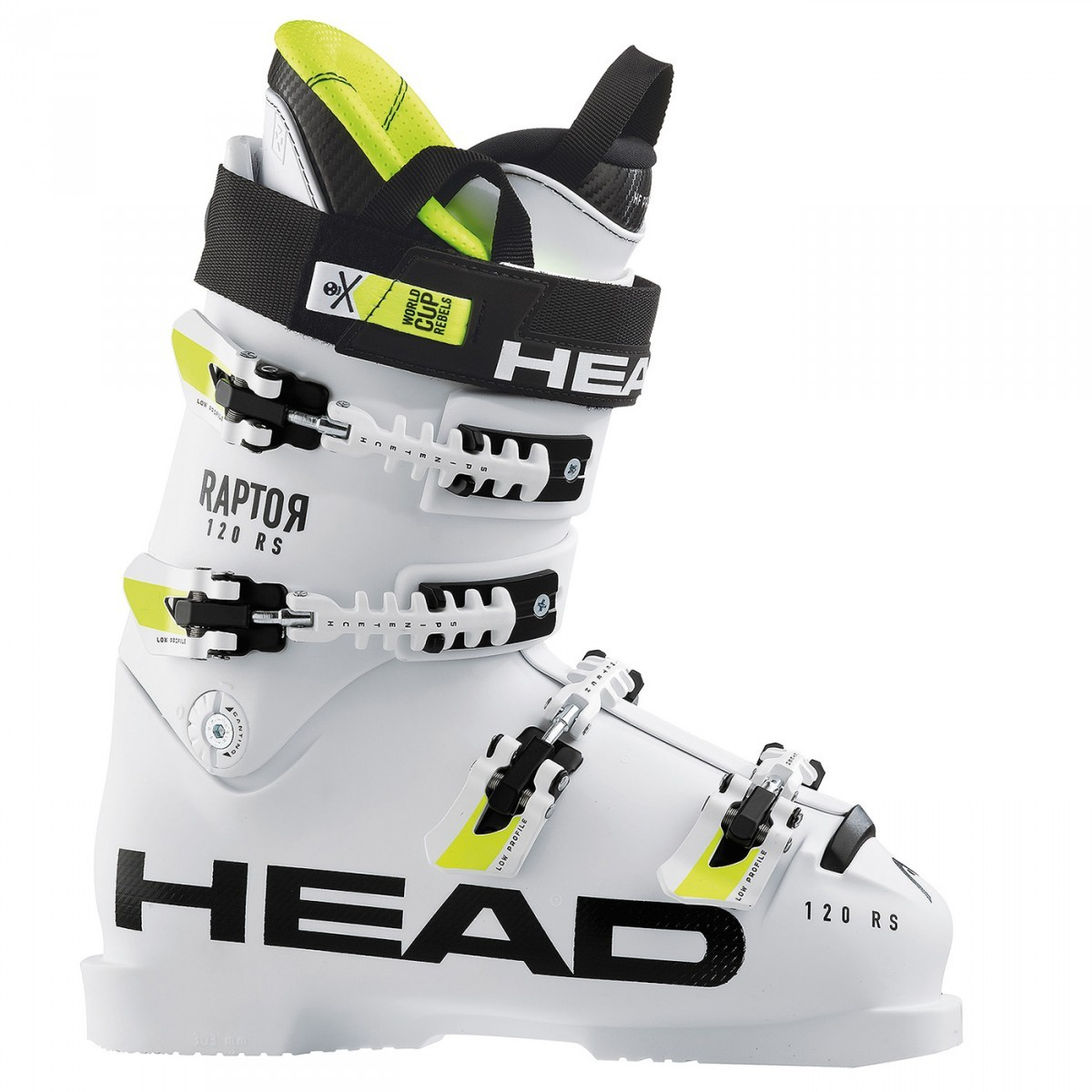 official photos 7e2da af3e5 Head Raptor 120s RS - scarponi da sci bianchi