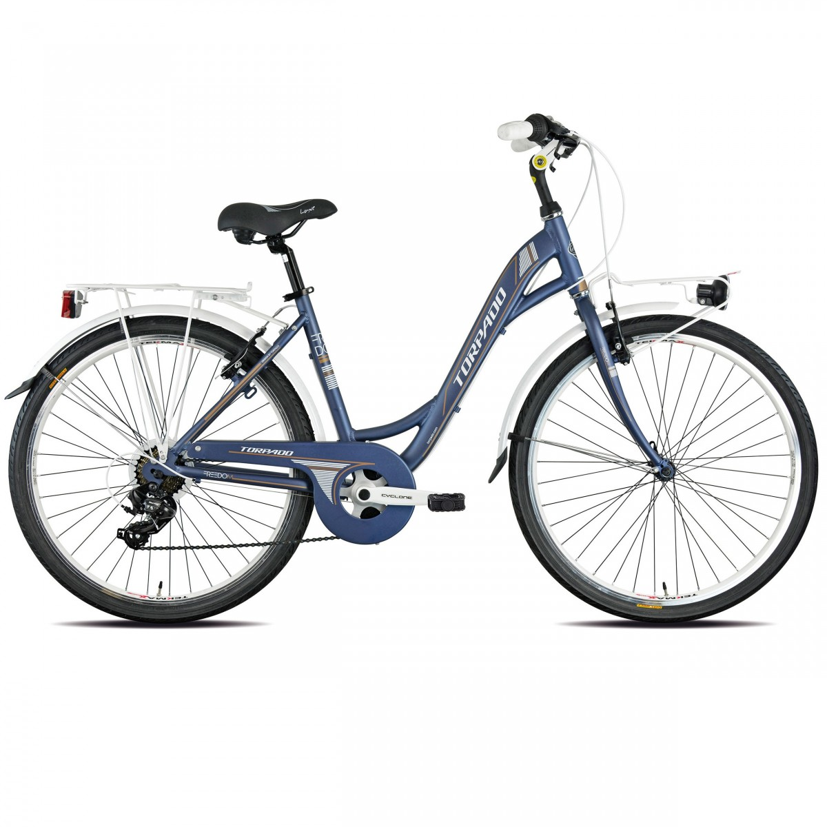 T461 Freedom Blue City Bike 2019