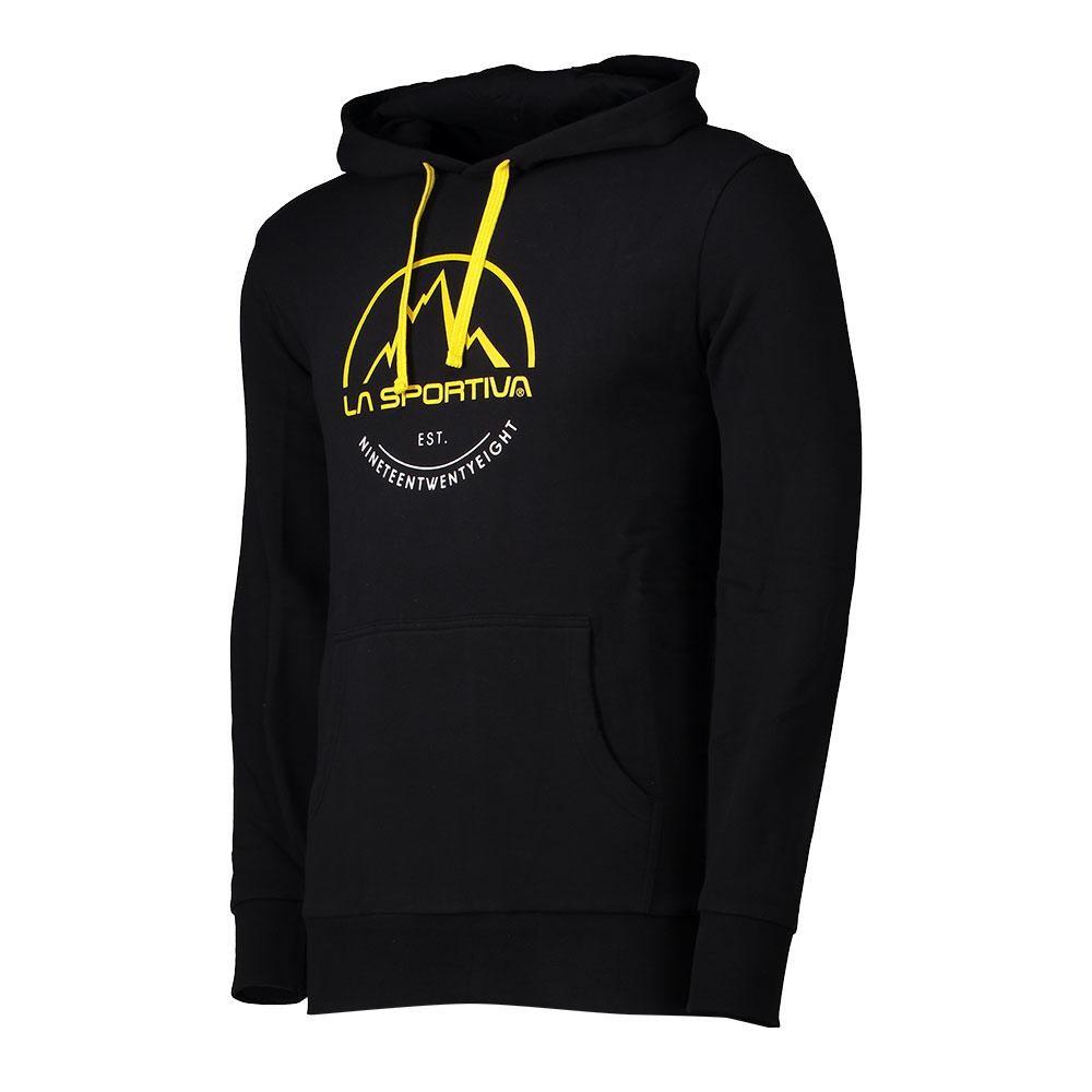 08d75eb093747f La Sportiva Logo Hoody felpa uomo estiva - nera | Mancini Store