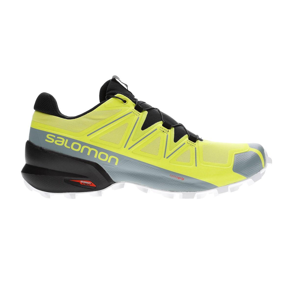 Speedcross 5 Sulphur Black Scarpe Trail Running Unisex