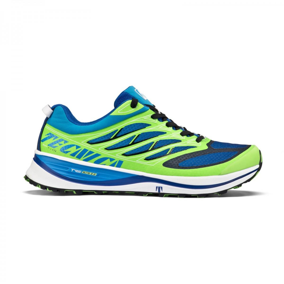 Tecnica Rush E Lite Ms Scarpe running uomo blue lime 080388e2c49