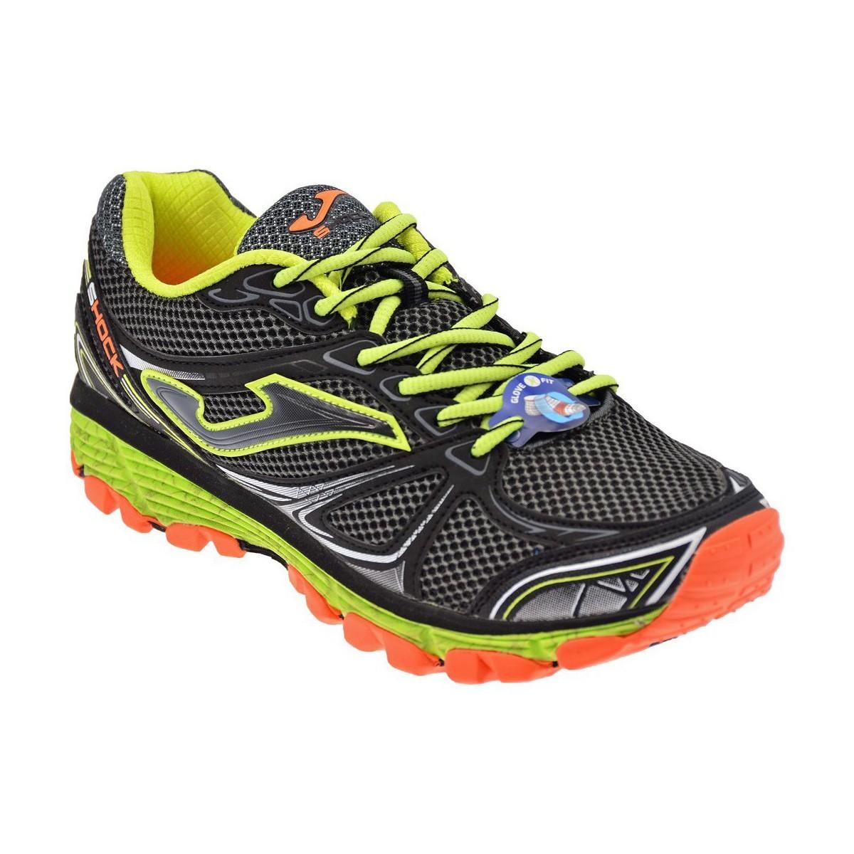 Tk Shock - scarpe trail running uomo - grigio fluo arancio ffb16cc54aa