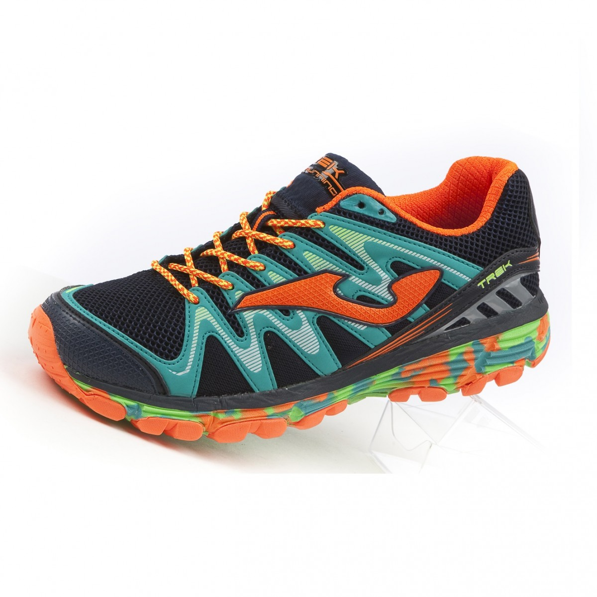 Joma Tk Trek Scarpe trail running uomo navy-green-orange 3812d722645