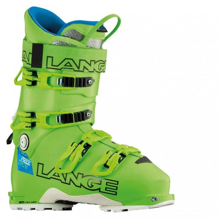 Lange Xt 130 Freetour - scarpone sci uomo - verde | Mancini Store
