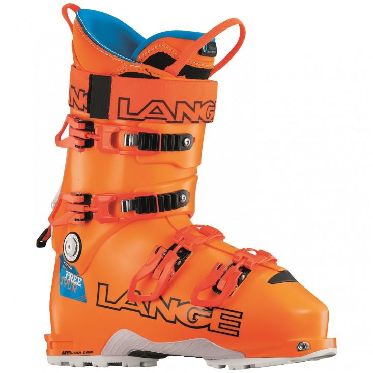 Lange Xt 110 Freetour - scarponi da sci uomo - arancioni | Mancini Store