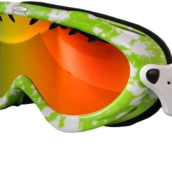 Bullski Vertigo - maschera sci - verde da Mancini Store