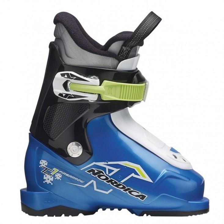 Nordica Team 1 - scarponi sci bambino - azzurro/nero/bianco 2016 | Mancini Store
