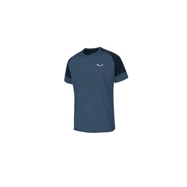 Salewa Puez Dry M S/S Tee T-Shirt - maglietta uomo blue