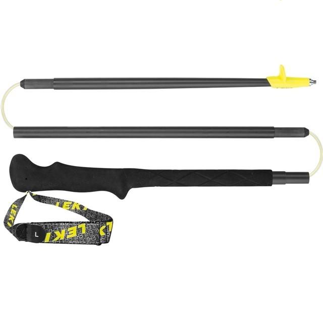 Leki Micro RCM - bastoncini trail running - neri gialli | Mancini Store