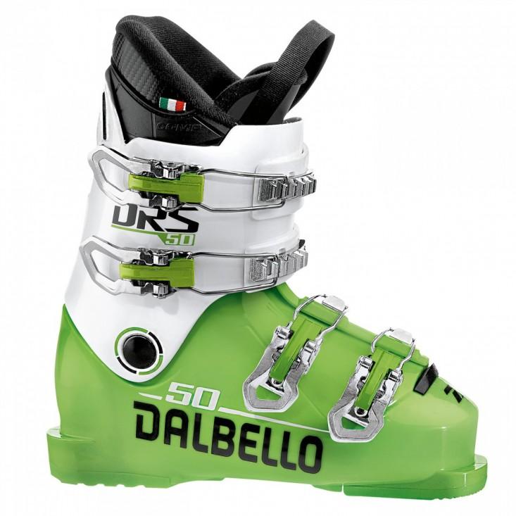 Dalbello DRS 50 Junior - scarponi sci bambino Lime/White 2018 | Mancini Store