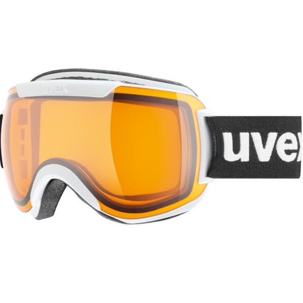 Uvex Downhill 2000 Race Maschera SCi White Gold 2018