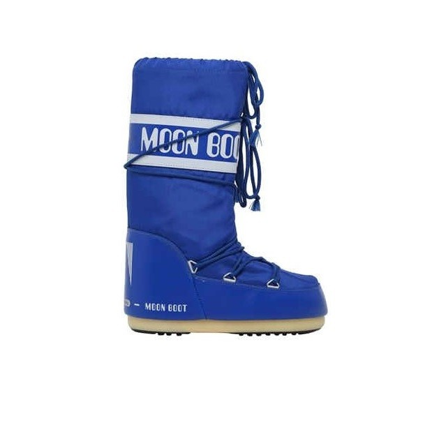 Moon Boot Nylon Bambino Blu Elettrico 2018