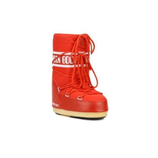 Moon Boot Nylon Bambino Rosso 2018