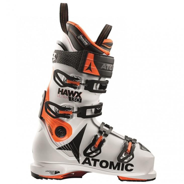 Atomic Hawx Ultra 130 - scarponi da sci uomo arancio/bianco | Mancini Store