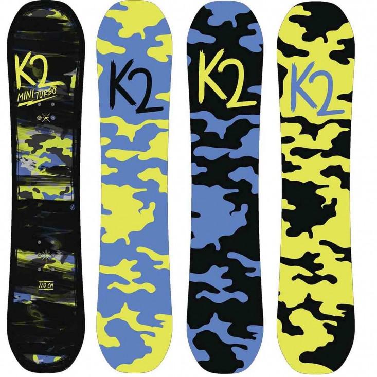 K2 Mini Turbo 2018 - tavola snowboard bambino | Mancini Store