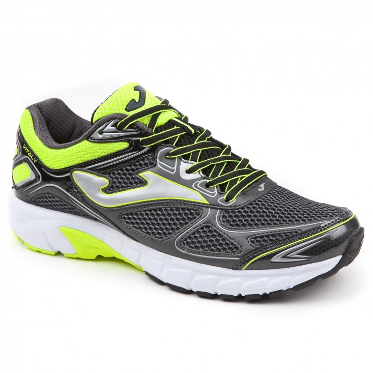 Joma R.Vitaly Man - scarpa running uomo grigia/gialla | Mancini Store