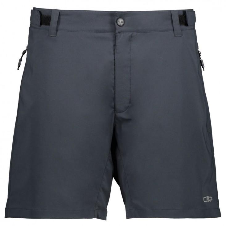 Cmp Man Bermuda Free Bike - pantaloncini ciclismo uomo grigi | Mancini Store