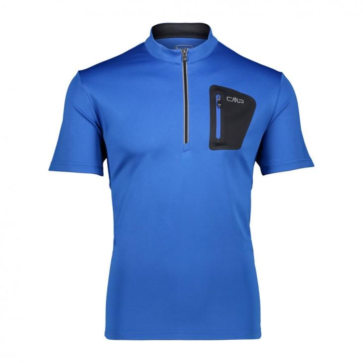 Cmp Man T-Shirt Free Bike - maglia ciclismo uomo blue | Mancini Store