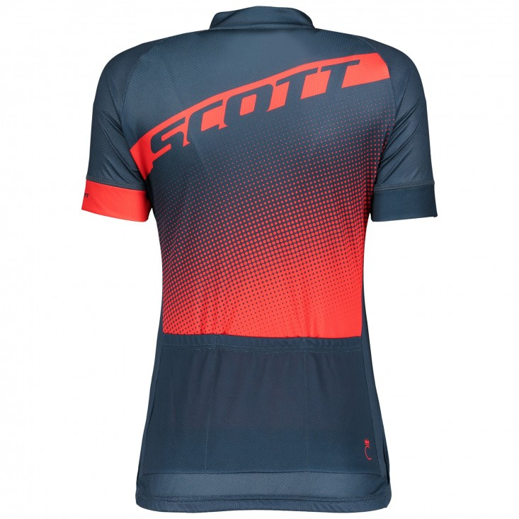 Scott Endurance 40 maglia ciclismo donna blue/rossa | Mancini Store