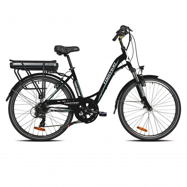 Torpado T250 Afrodite - E-Bike nera | Mancini Store