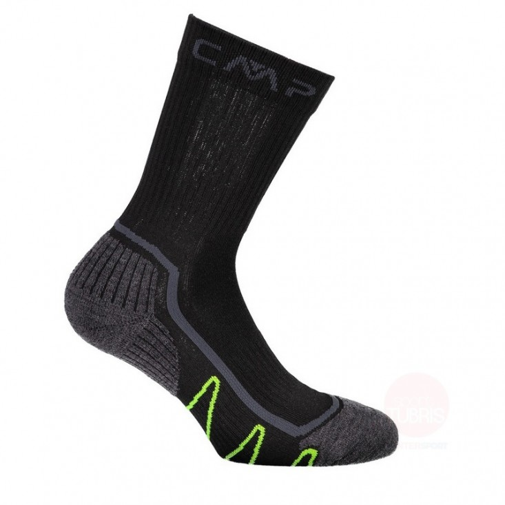 Cmp Calze trekking lunghezza media - Sock Poly Medium grigie | Mancini Store