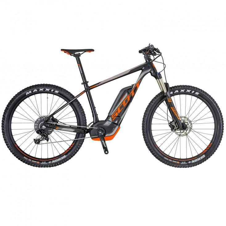 Scott E-Scale 940 - e-bike nera/arancio | Mancini Store