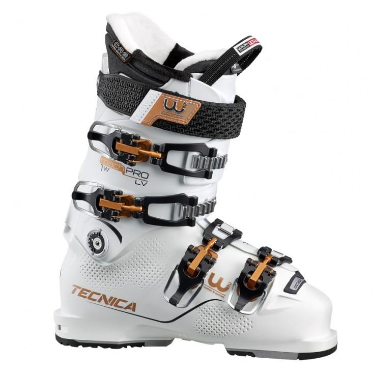 Tecnica Mach1 PRO W LV - scarponi da sci donna bianchi [2019] | Mancini Store