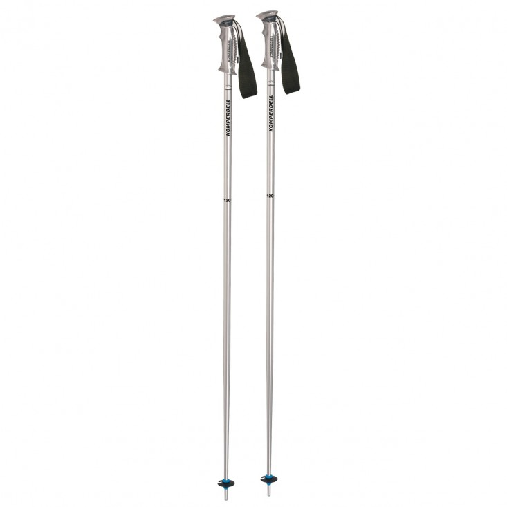 Rental Soft Clear Thermo - bastoncini sci silver | Mancini Store