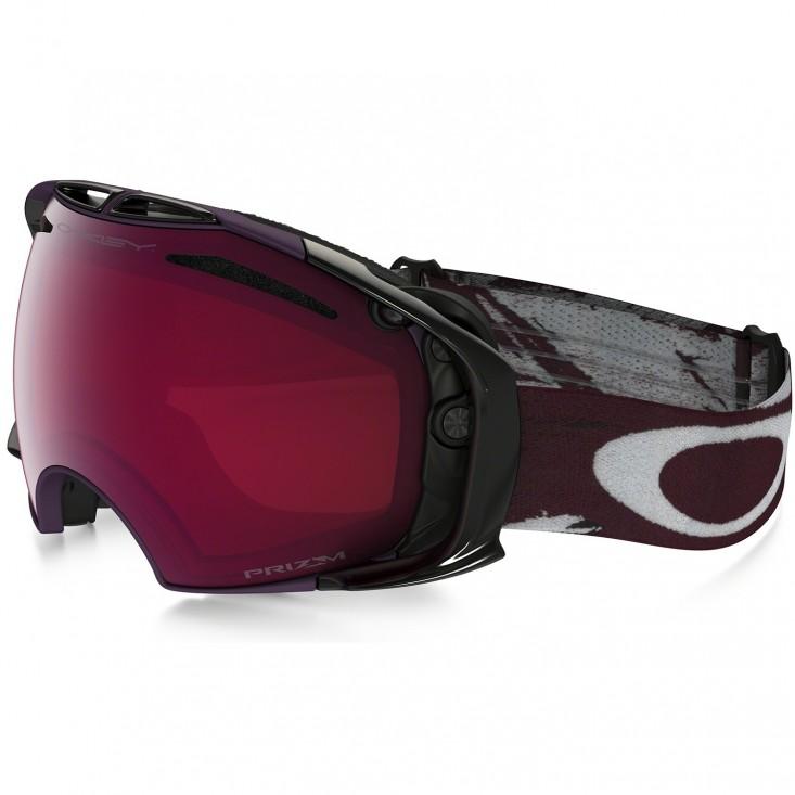 Oakley Airbrake Snow Slasher Rhone Prizm Rose - maschera snowboard | Mancini Store