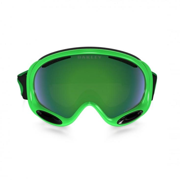 Oakley A Frame 2.0 Neon Green - maschera snowboard | Mancini Store