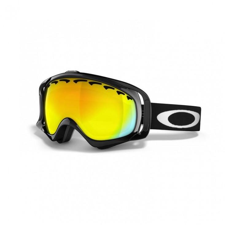 Oakley Crowbar Snow Jet Black - maschera snowboard | Mancini Store