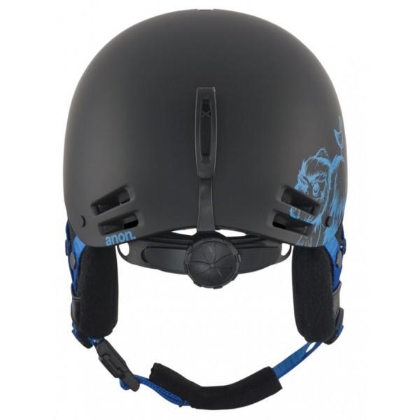 Anon Rime - casco snowboard bambino nero/blue | Mancini Store