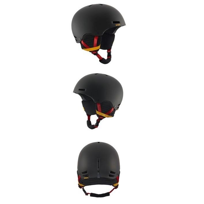 Anon Raider Black/Rasta - casco snowboard | Mancini Store