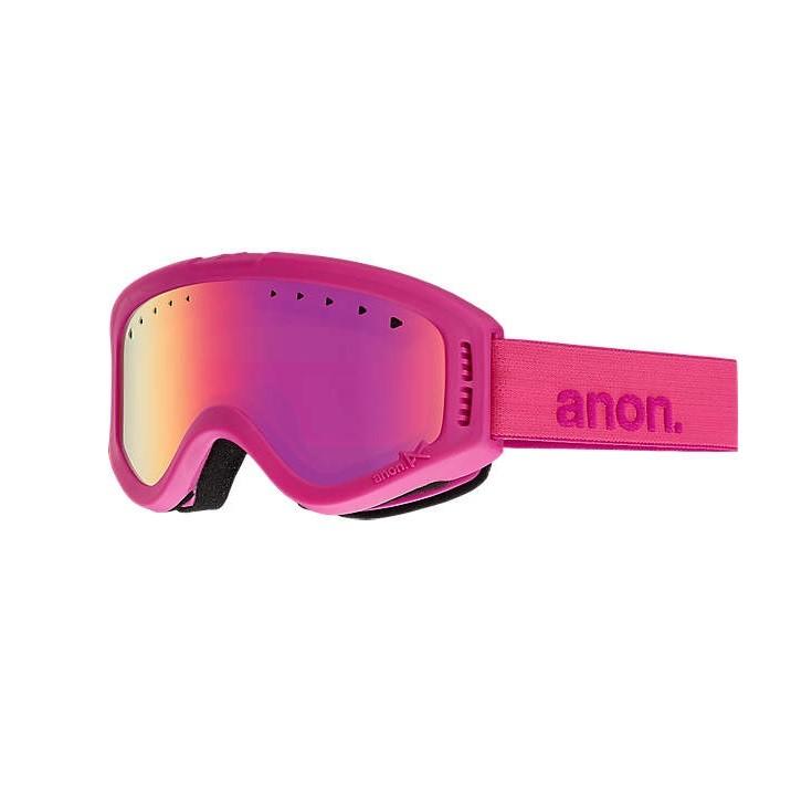 Anon Tracker Pink/Pink - maschera snowboard bambino | Mancini Store