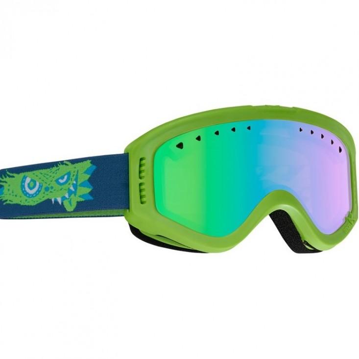 Anon Tracker Gremlin/Green - maschera snowboard bambino | Mancini Store