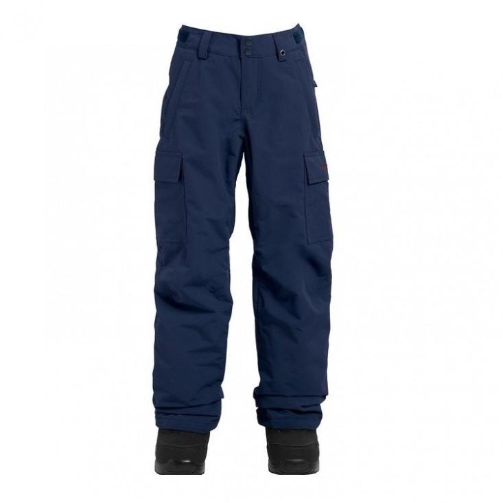 Burton Boys Exile Cargo Pant Indigo - pantaloni snowboard bambino | Mancini Store