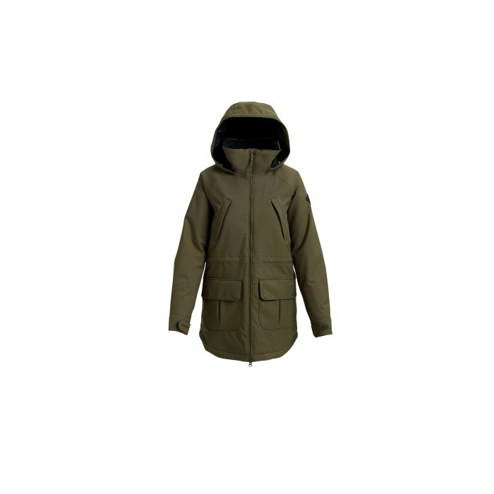 Burton Prowess Jacket Forest - giacca snowboard donna | Mancini Store