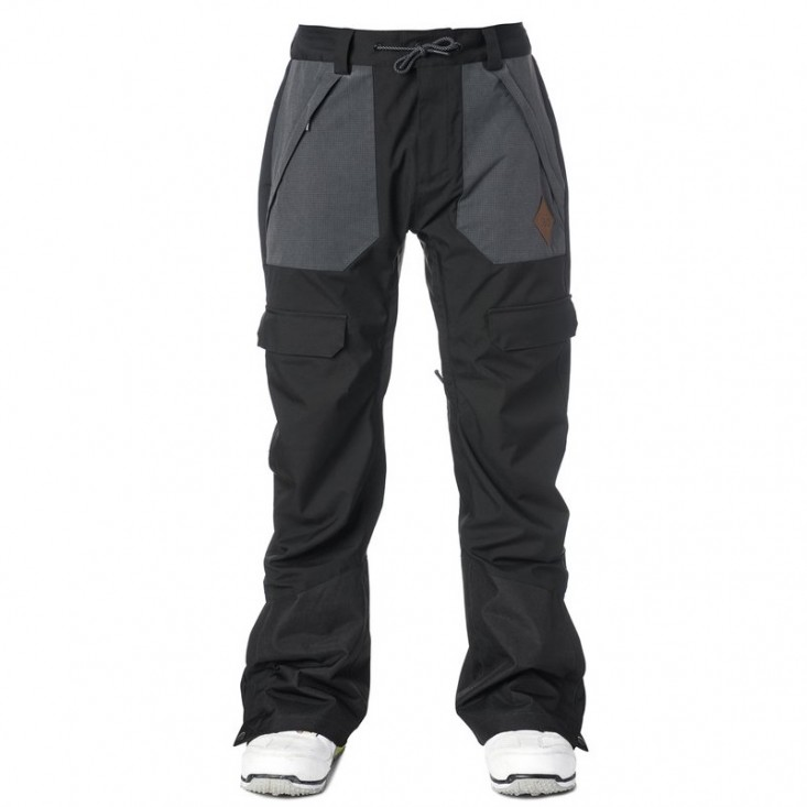 Rip Curl Revive - pantalone snowboard uomo neri   Mancini Store
