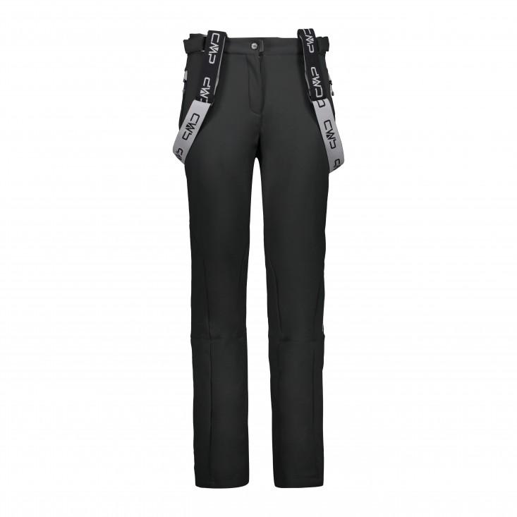 Woman Salopette Pantalone Sci Donna Black