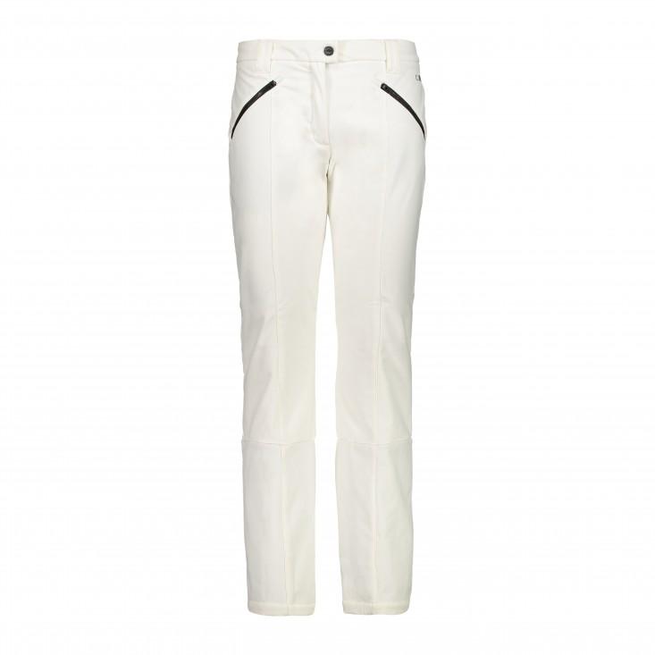 Woman Pant Pantalone Sci Donna White