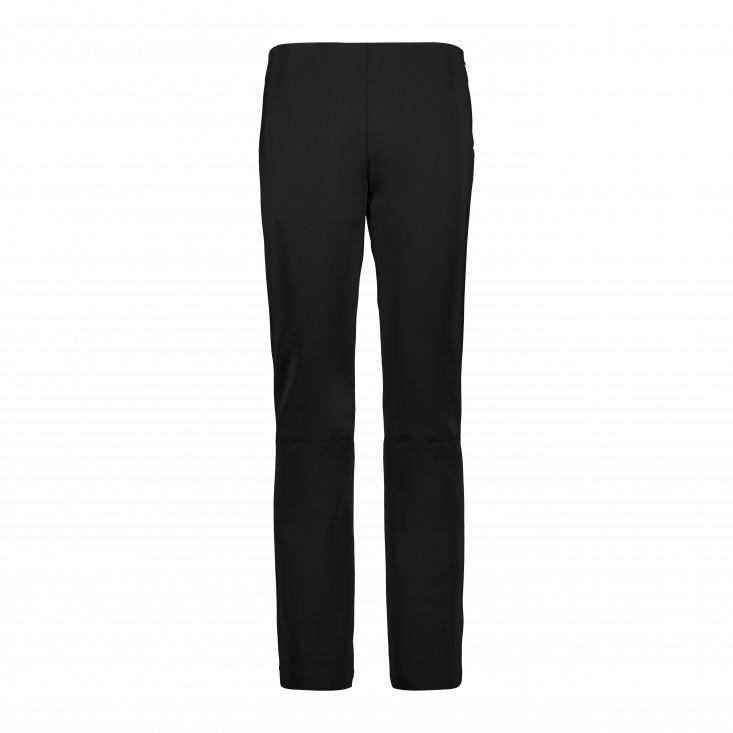 Woman Long Pant Pantalone Sci Donna Black