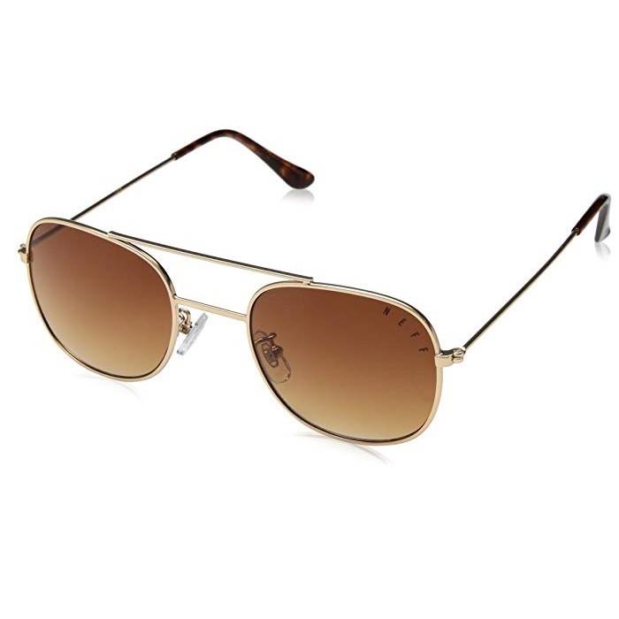 Neff Baron Shades White/Gold - occhiali da sole   Mancini Store