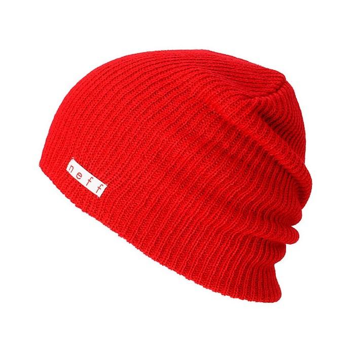 Neff Daily Beanie rosso - cappello snowboard | Mancini Store