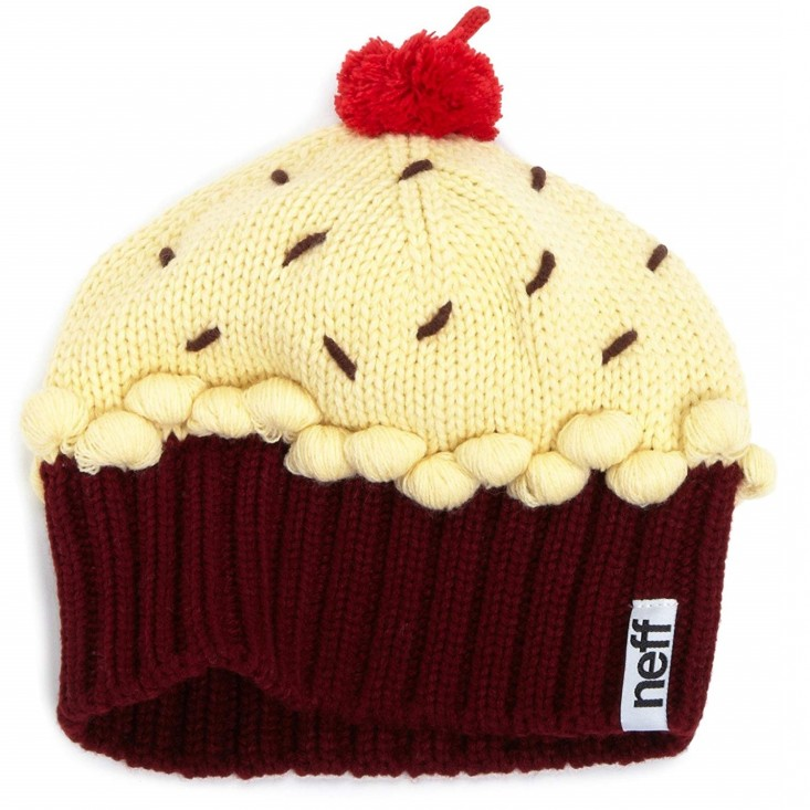 Neff Cupcake Beanie red violet - cappello bambino   Mancini Store