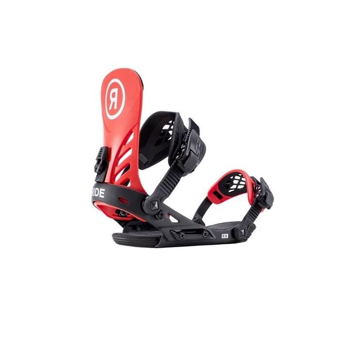 Ride EX Red - attacchi snowboard uomo   Mancini Store