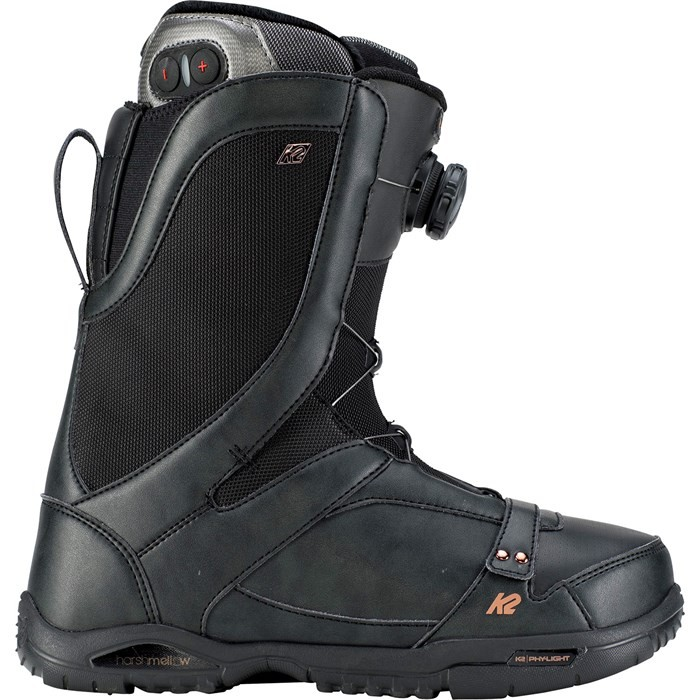 K2 Sapera HEAT Black - scarponi snowboard donna | Mancini Store